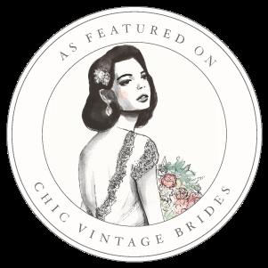 Honest+Type+Chic+Vintage+Brides+Featured